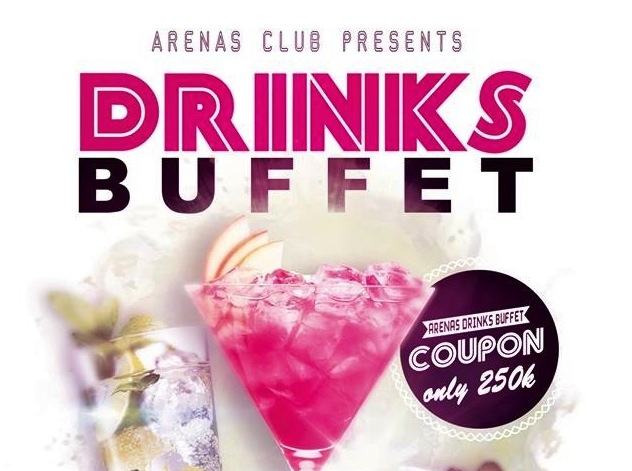 Arenas Bar Buffet Party