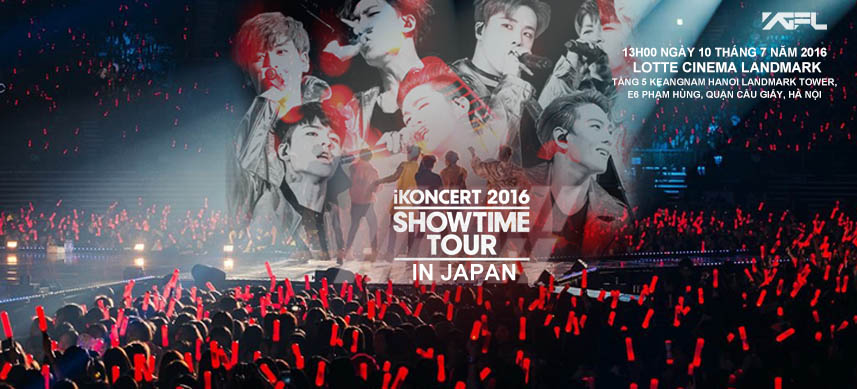Showtime Tour 2016 in Japan Showing - Hà Nội