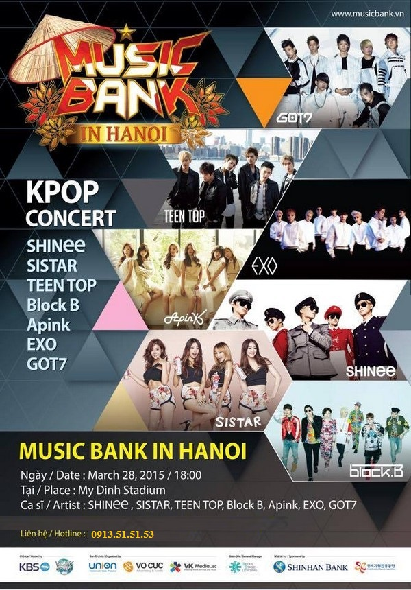 Music Bank in Ha Noi 2015