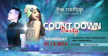 The Rooftop Count Down Party