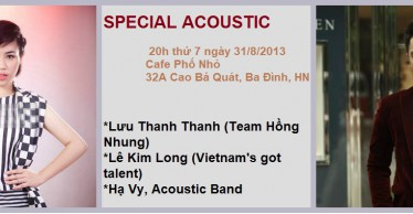 SPECIAL ACOUSTIC