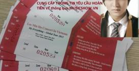 TỔNG HỢP CÁC YÊU CẦU HOÀN TIỀN VÉ LIVESHOW LEE MIN HOO NGÀY 03/08 TẠI VIỆT NAM