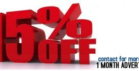 Giảm giá đến 50% giá quảng cáo trên MUSICSHOW