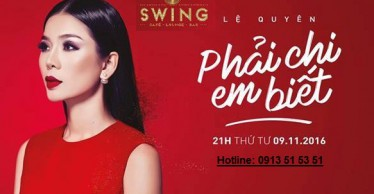 Lịch Swing tháng 11-12
